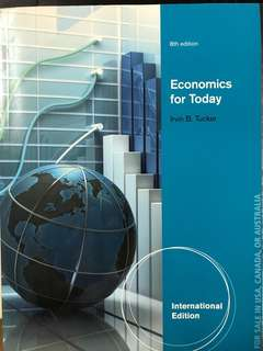 8th Edition Economics for Today