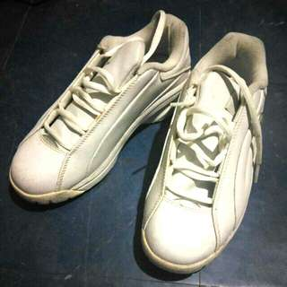 Converse All Star White Rubber Shoes