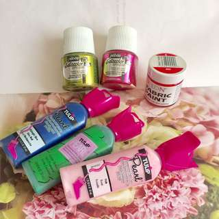DYLON FABRIC PAINT 衣服顏料