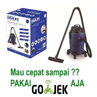 IDEALIFE - Wet & Dry Vacuum Cleaner Penyedot Debu IL 200V Harga Murah