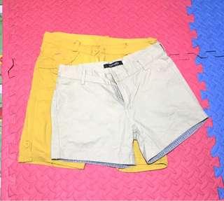 2 denim shorts (bundle)