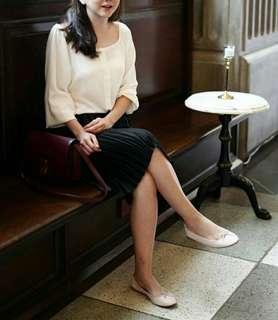Sabrina Top White (Baju Blouse Atasan) #maudecay