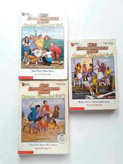 Buy 2 Take 1 Baby Sitters Club