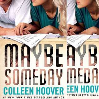 Maybe Someday (Maybe, #1) by Colleen Hoover