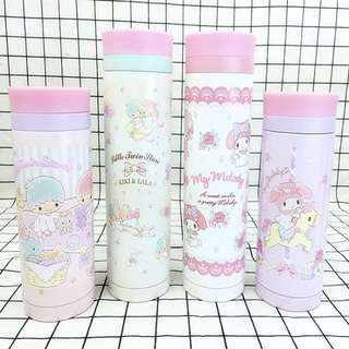 Sanrio characters thermal water bottle