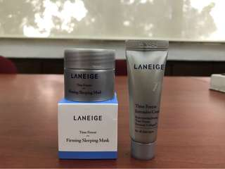 LANEIGE TIME FREEZE SAMPLERS SET