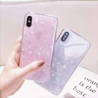 現貨💕iPhone Case (For iPhone 6-X) 少女夢幻貝殼款