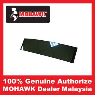 MOHAWK Accessories Curve Rear View Blue Mirror