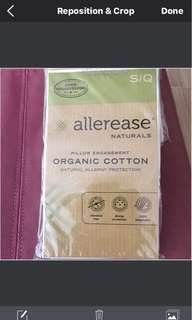 Zip Pillow Protector by Allerase Naturals
