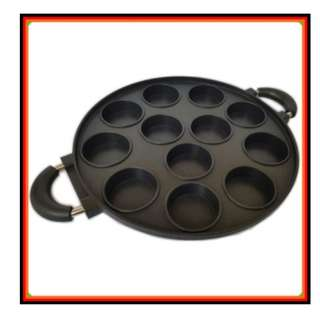 Cetakan Kue 12 Lubang Snack Maker Martabak Mini Pancake