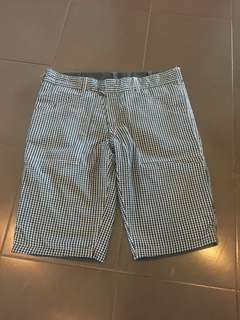 Chequered Shorts