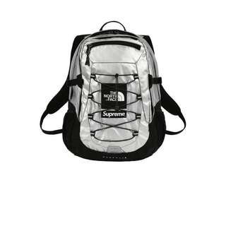 Supreme x The North Face Metallic Borealis Backpack