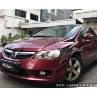 Stylish & Fuel Economy Honda Civic 1.8 For Rent - $350/Week