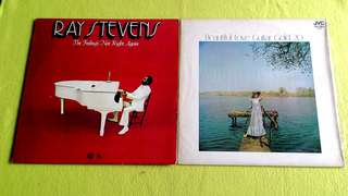 RAY STEVENS . the feeling's not right again ● RAYMOND STEPHEN GRAND ORCHESTRA . beautiful love guitar gold 20 (Rare) ( buy 1 get 1 free )  vinyl record