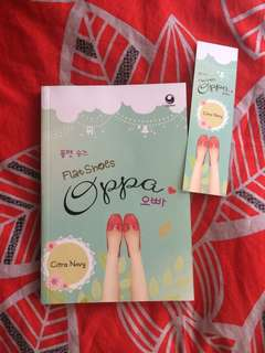 novel Flat Shoes Oppa by Citra Novy