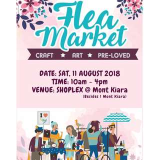 EVENT- Flea Market 2018 at Shoplex @ Mont Kiara