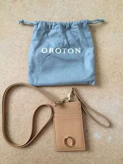 Oroton lanyard