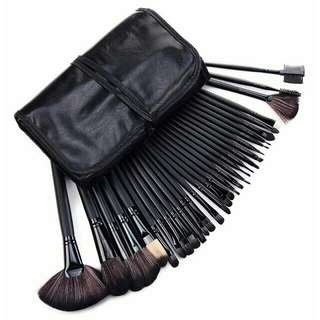 Professional brush 32pcs (black)