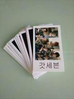 韓國偶像卡片