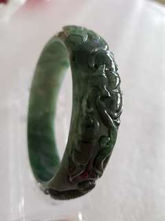 Jade Bangle 59mm