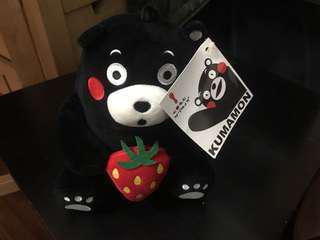 可愛熊玩偶