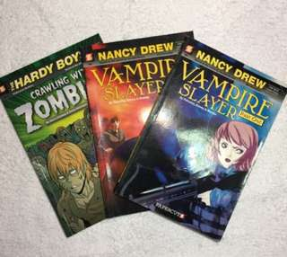Nancy Drew & Hardy Boys Bundle