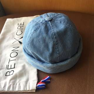 Beton Cire Denim Hat Light Blue