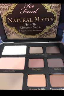 Too Faced matt eyeshadow palette fr Sephora