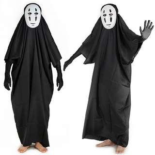🚚 Spirited Away - No Face Costume