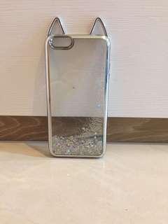 iphone6 plus/6s plus透明閃粉手機殼