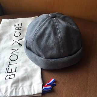 Beton Cire Denim Hat Grey