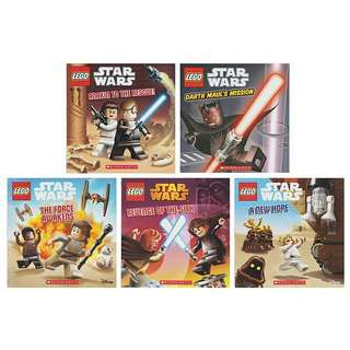 Lego Star Wars Comic - 5 Books Set