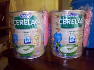 New nestle cerelac rice 500gx2