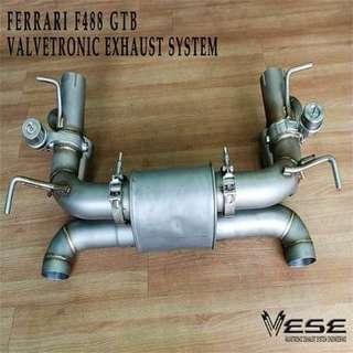 FERRARI 488 GTB VALVETRONIC EXHAUST SYSTEM