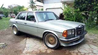 Mercedes benz w123 280 tiger