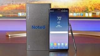 Kredit Samsung Galaxy Note 8 Smartphone 6/256GB