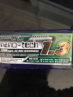 4S nano-tech 1.3 lipo batteries & 20 pair of GemFan propeller