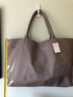 Grey Jellybag Large Tote