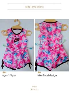 Nike Floral terno