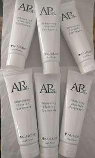 AP24 whitening toothpaste (Nuskin)