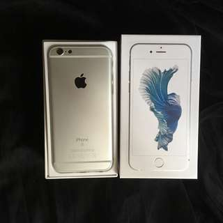 IPhone 6s 128gb silver good condition original