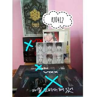 VIXX old albums