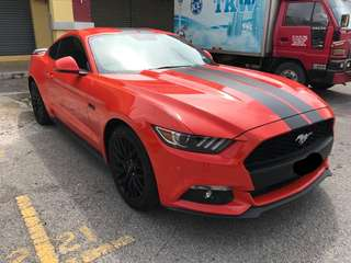 Ford Mustang for rent