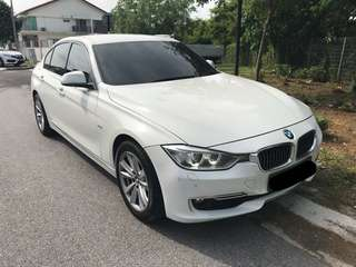 BMW F30 for rent