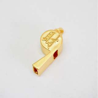 🚚 999 Pure gold Whistle (world cup)