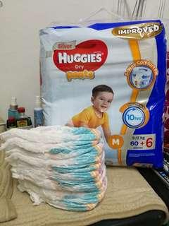 Huggies pants 66+11ps