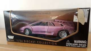 Lamborghini Diablo Diecast Collection