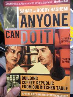 Anyone can Do It - Building Coffee Republic From our Kitchen Table (Laws on Entrepreneurship)