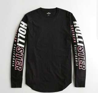 Hollister Long sleeve graphic tee