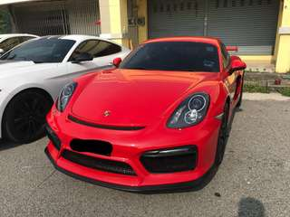 Porsche Cayman GT4 for rent